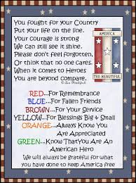 veteran appreciation poems american veteran m u0026m candy topper