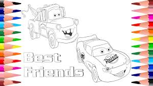 coloring lightning mcqueen from disney pixar cars painting mater disney cars coloring pages