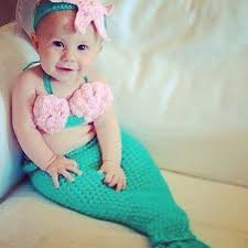 Infant Mermaid Halloween Costume 54 Baby Images Twin Baby Showers Baby Shower