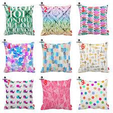 popular emerald cushion buy cheap emerald cushion lots from china watercolor beach emerald rainbow polk dot key print decorative pillowcase cushion covers sofa chair home decor