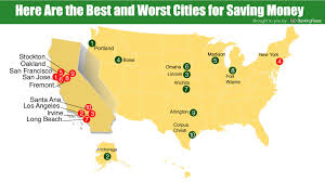 cheapest west coast cities the 15 best and worst places to live if you re trying to save