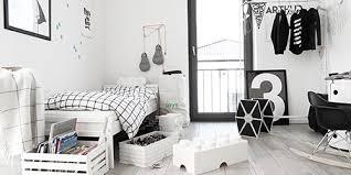 chambre noir et blanche enfants modèles la sélection mode et design pour les petits by