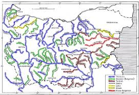 Map Of Bulgaria Visit To Bulgaria Bulgarian Rivers