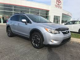 grey subaru crosstrek used 2014 subaru xv crosstrek 2 0i w sport pkg in gatineau used