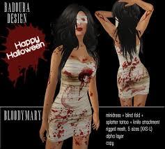 Bloody Mary Halloween Costume Marketplace Badoura Design Badoura Loon