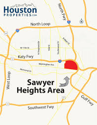 Katy Trail Dallas Map by Sawyer Heights Houston Neighborhood Guide Maps Homes