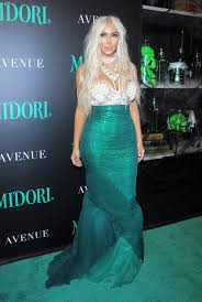 mermaid costume wears mermaid costume again celebrates