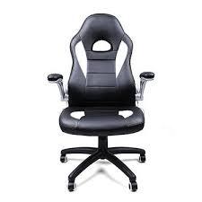 fauteuil de bureau racing siège de bureau racing sport songmics