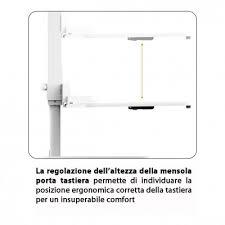 postura corretta scrivania techly np postazione di lavoro da scrivania per postura seduta