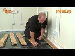 instalay 3 peel stick underlay wood flooring demo