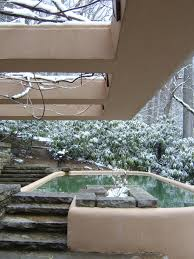 fallingwater pictures winter photos of house on waterfall frank