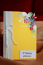 Invitation Cards Handmade - marvelous ideas handmade invitation cards yellow color background