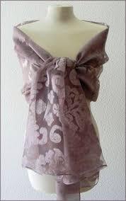 ã tole mariage etole écharpe foulard organza gris argent cérémonie mariage