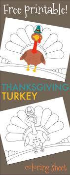thanksgiving turkey coloring sheet free printable 730