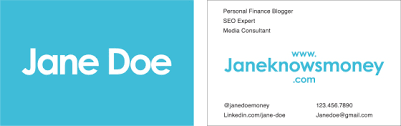 Job Title On Business Card Business Card Template How To Make A Card That Stands Out Money