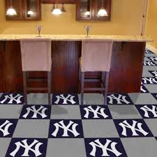 amazon com mlb new york yankees carpet tiles household amazon com mlb new york yankees carpet tiles household carpeting sports outdoors