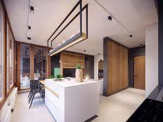 cuisine interieur design appartement moderne au design minimaliste et chaleureux à varsovie