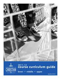 course curriculum guide by charlotte christian issuu