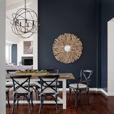 Two Tone Dining Room by Dining Black Dining Rooms With Paint Navy Blue Dining Room