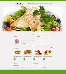 free website template restaurant