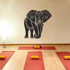 Om Wall Decal Mandala Vinyl by Ganesh Ganesha Elephant Lord Of Success Hindu Hand God Buddha