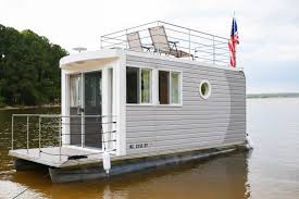 ever heard of a tiny houseboat you can rent one at jordan lake