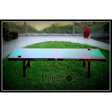 Pool Beer Pong Table by Folding Beer Pong Table
