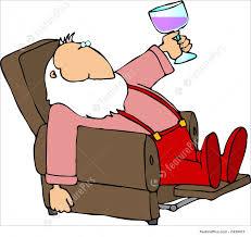 easy chair santa stock illustration i1439415 at featurepics