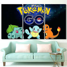 home decor prints wall ideas pokemon wall decor pokemon removable wall decorations