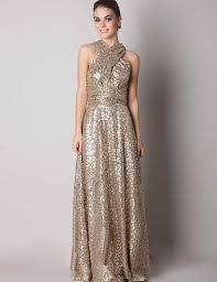 gold color bridesmaid dresses v neck back cross sequin bridesmaid dresses gold color floor