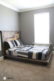 Build Platform Bed Frame Diy by Diy Reclaimed Wood Platform Bed Wood Platform Bed Platform Beds