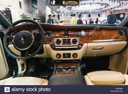 Interior Rolls Royce Motor Car Stock Photos U0026 Interior Rolls Royce