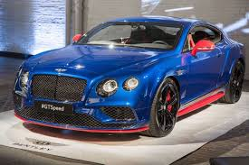 black bentley 2016 bentley continental gt speed has 633hp comes in superman colors