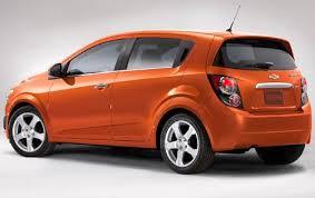 2012 chevrolet sonic orange paint almost as popular as black