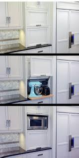 Tambour Doors For Kitchen Cabinets Kitchen Appliances Tambour Door Freestanding Appliance Garage