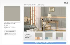 valspar virtual painter around the house
