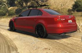 red volkswagen jetta 2015 2015 volkswagen jetta 1 8t sel add on replace gta5 mods com