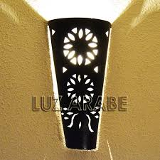 Torch Wall Sconce Wall Sconces Luz Arabe