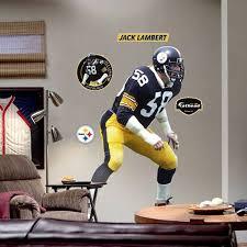 Pittsburgh Jack Pittsburgh Steelers 58 Jack Lambert Player Fathead Fanatics Com