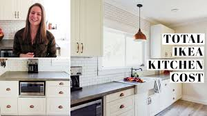 ikea kitchen cabinet installation cost complete ikea kitchen cost breakdown 1 2 sektion cabinets ikea purchase remodel expenses