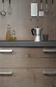 harmonie cuisine cuisine contemporaine en bois en stratifié avec îlot