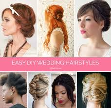 do it yourself haircuts for women braids twists and buns 20 easy diy wedding hairstyles offbeat