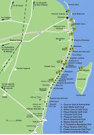 tulum map how to take the colectivos to tulum or cancun everything playa