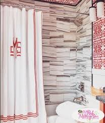 26 best monogrammed shower curtains images on pinterest monogram