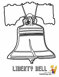liberty bell coloring glum