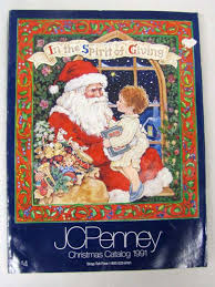 jcpenney christmas catalog wish book cover1991 christmas