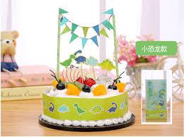 dinosaur cake happy birthday popular diy cake flag dinosaur cake wrapper