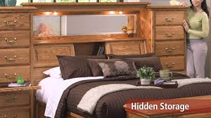 mid wall headboard with secret compartments youtube