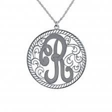 Single Initial Monogram Necklace Our Collection Of Jewelry