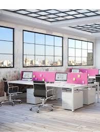 bureau partagé bureau partagé 4 personnes astrolite en stock delex mobilier
